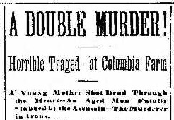 columbia farm murder