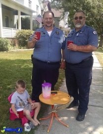 John and Shawn Lemonade Stand