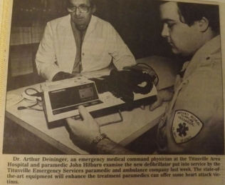 John Hilburn 1980s newspaper clipping (Contributed by Heather Hilburn)