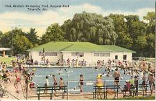 Kraffert Pool Postcard