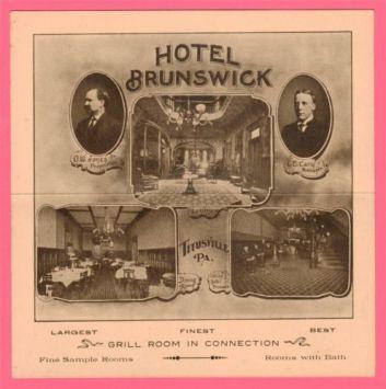 Brunswick Hotel Ad