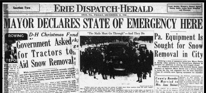 Erie Dispatch-Herald 1944