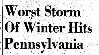 Worst Storm of Winter Headline
