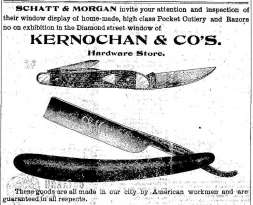 Christmas Ad for Cutlery at Kernochan Hardware 12.17.1903.png