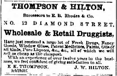 March 19, 1866, Titusville Herald