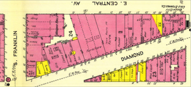 Sanborn January 1912 Diamond St.png