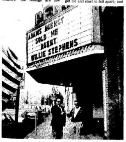Ron Day Buys Penn Theater 9.17.1986