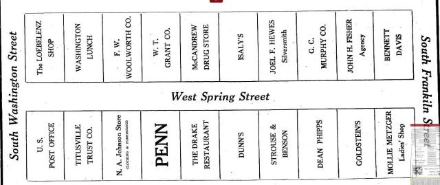 Street Layout 1939