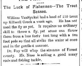 Trout Haul 6.7.1881