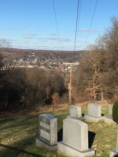 Downtown View from Jewish Cemetery