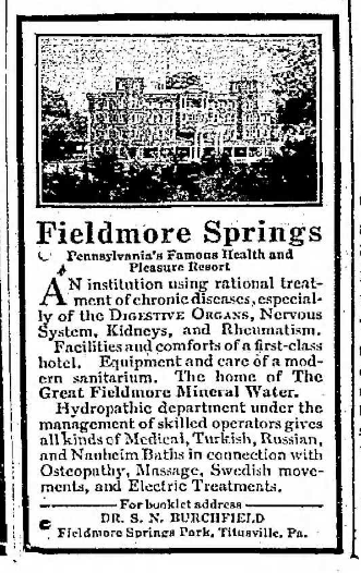 Fieldmore Springs Ad 5.2.1908