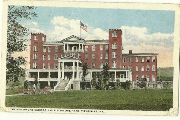 Fieldmore Springs Postcard
