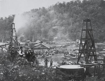 Oil Creek early