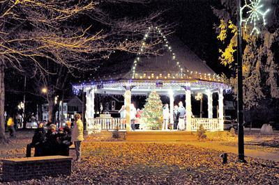 Scheide Park Winter Titusville Herald