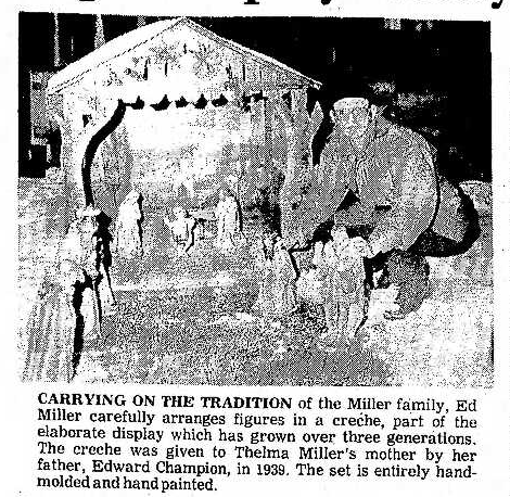 Ed and the Christmas Creche 12.14.1981