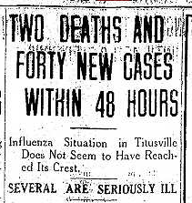 flu headline 10.28.1918