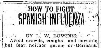 how to fight spanish influenza 11.20.1918