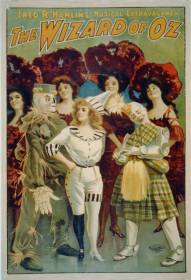 Wizard of Oz, 1903. (Library of Congress, US Lithograph Co.)