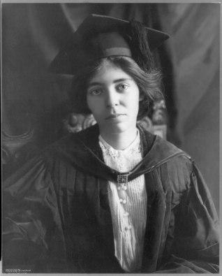 Alice Paul in 1913. Taylor Studio, Washington, Library of Congress.
