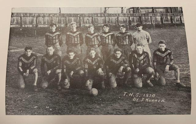 Football Team THS 1930