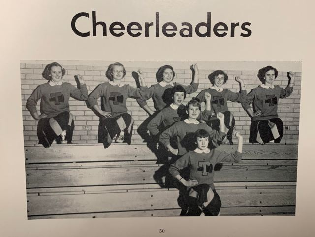THS Cheerleaders 1961