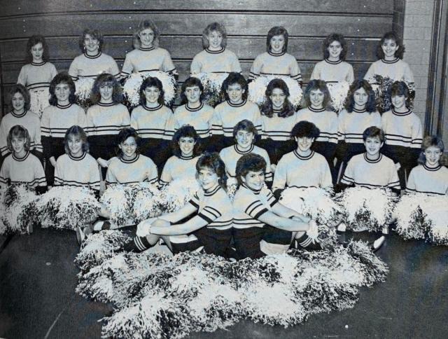 THS Cheerleaders 1985