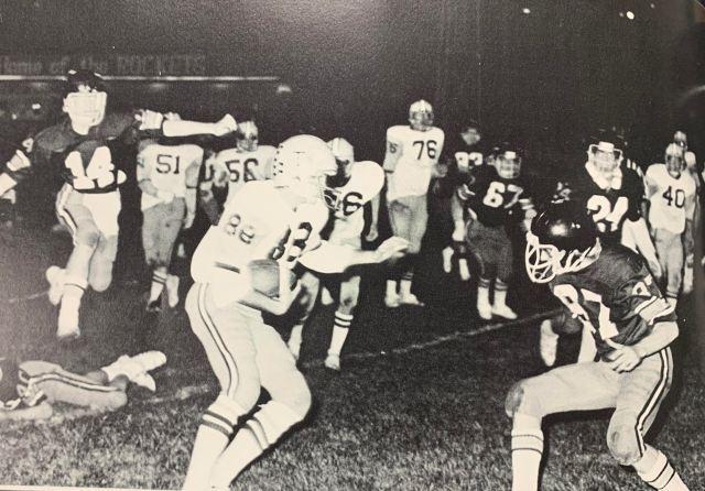 THS Football 1977