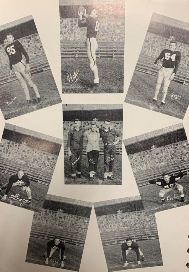 THS Football Players 1961