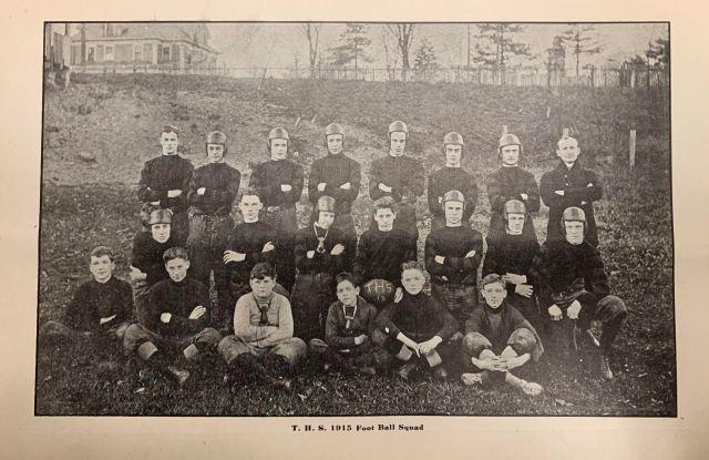 THS Football Team 1915