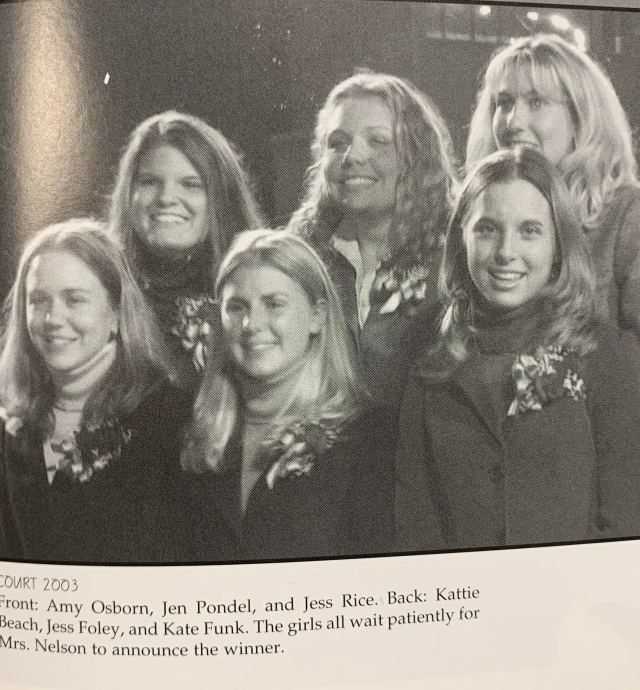 THS Homecoming Court 2003