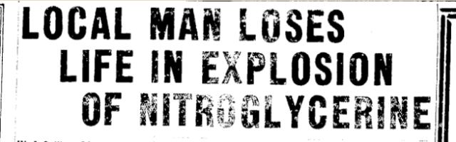 Worthy Sullivan Newspaper Headline 1.28.1930