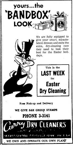 Curry Dry Cleaners 3.31.1955