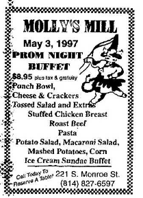 Mollys Mill 4.25.1997