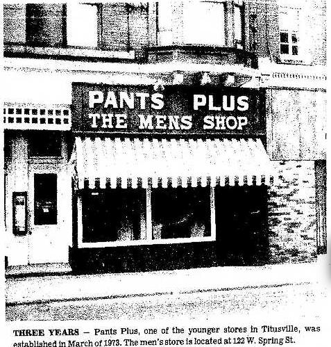 Pants Plus 7.3.1976