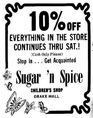 Sugar N Spice 5.17.1974