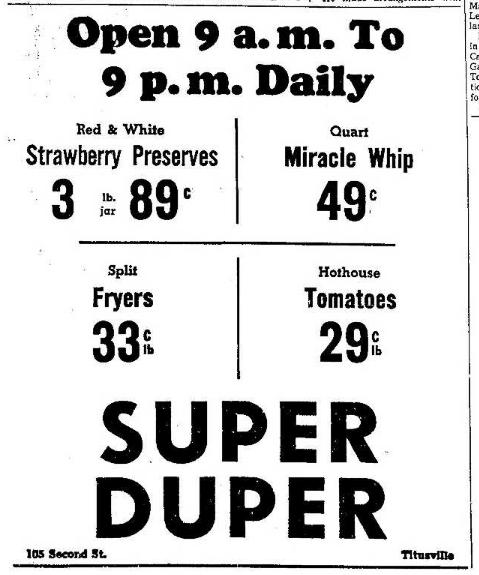 Super Duper 6.10.1965