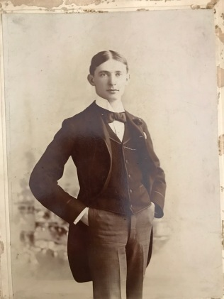 Joseph Strauss in his youth. Image courtesy of Jeffrey Stern.